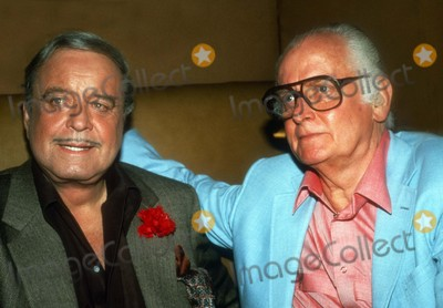 Jackie Gleason Photo - Jackie Gleason Art Carney1284JPGCelebrity Archaeology 1985 FILE PHOTONew York NYJackie Gleason Art CarneyPhoto by Adam Scull-PHOTOlinknet