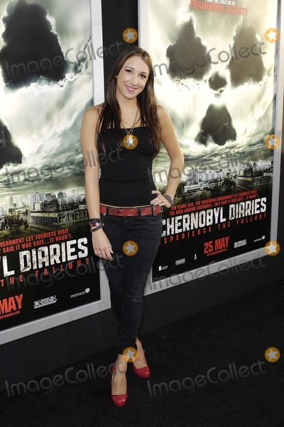 Ashley Edner Photo - Ashley Edner during the premiere of the new movie from Warner Bros Pictures CHERNOBYL DIARIES held at the Arclight Cinerama Dome on May 23 2012 in Los AngelesPhoto Michael Germana Star Max