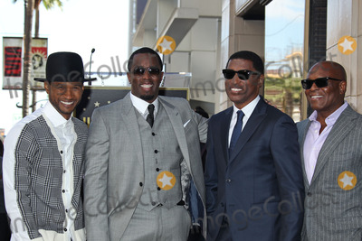 Diddy Combs Photo - Photo by REWestcomStarmaxinccom2013ALL RIGHTS RESERVEDTelephoneFax (212) 995-1196101013Usher Sean P Diddy Combs Kenny Babyface Edmonds Antonio LA ReidKenny Babyface Edmonds  Kenny Babyface Edmonds honored with a star on the Hollywood Walk of Fame in front of the W Hotel in (Hollywood CA)