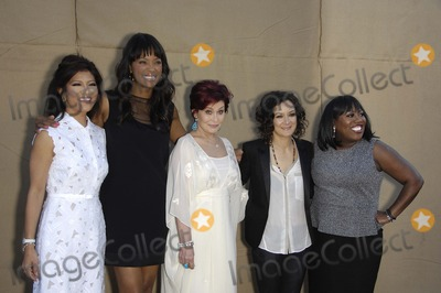 Sara Gilbert Photo - Julie Chen Aisha Tyler Sharon Osbourne Sara Gilbert and Sheryl Underwood during the CBS Network TCA Party held at 9900 Wilshire Blvd on July 29 2013 in Beverly Hills CaliforniaPhoto Michael Germana Star Max
