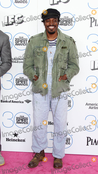 Andre Benjamin Photo - Photo by WestcomstarmaxinccomSTAR MAX2015ALL RIGHTS RESERVEDTelephoneFax (212) 995-119622115Andre Benjamin at the 2015 Film Independent Spirit Awards(Santa Monica CA)
