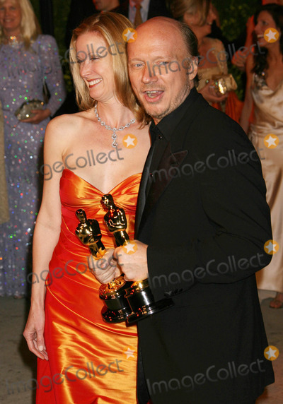 Deborah Rennard Photo - Photo by NPXstarmaxinccom20063506Paul Haggis and Deborah Rennard at the Vanity Fair Oscar Party(West Hollywood CA)