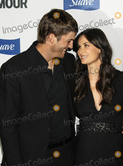 Demi Moore Photo - Photo by NPXstarmaxinccom2008101408Ashton Kutcher and Demi Moore at Glamour Reel Moments(Los Angeles CA)Not for syndication in France