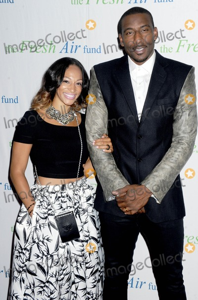 Amare Stoudemire Photo - Photo by Dennis Van TinestarmaxinccomSTAR MAX2014ALL RIGHTS RESERVEDTelephoneFax (212) 995-119652914Alexis Welch and Amare Stoudemire at the Fresh Air Fund Gala(NYC)