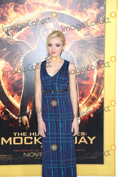 Peyton List Photo - Photo by JMAstarmaxinccom2014ALL RIGHTS RESERVEDTelephoneFax (212) 995-1196111714Peyton List at the premiere of The Hunger Games Mocking Jay-Part 1