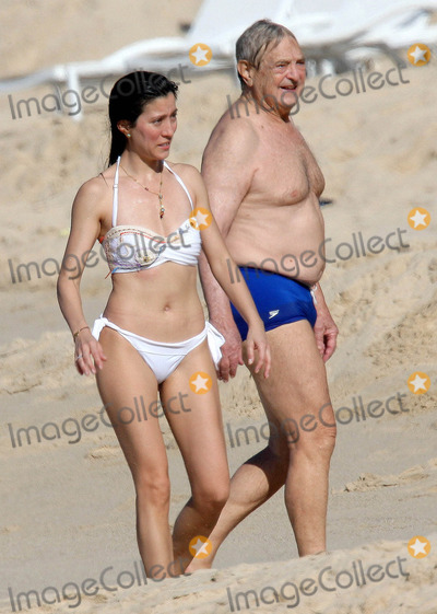 George Soros Photo - George Soros and girlfriend on vacation (St Barts) 122109