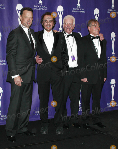 Dave Clark Photo - Photo by Raoul Gatchalianstarmaxinccom200831008Tom Hanks with The Dave Clark Five at the 23rd Annual Rock and Roll Hall of Fame Induction Ceremony(Waldorf-Astoria NYC)