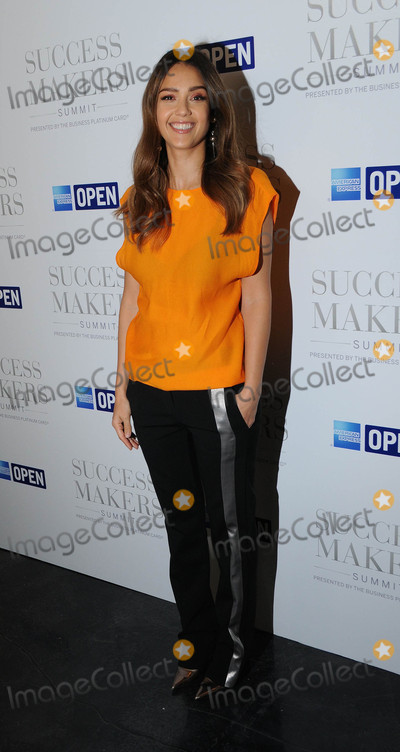 Jessica Alba Photo - Photo by Demis MaryannakisstarmaxinccomSTAR MAX2017ALL RIGHTS RESERVEDTelephoneFax (212) 995-119641717Jessica Alba at The 2017 Success Makers Summit in New York City