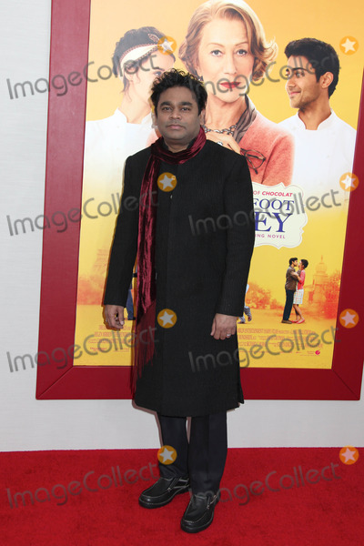 AR Rahman Photo - Photo by HQBstarmaxinccomSTAR MAX2014ALL RIGHTS RESERVEDTelephoneFax (212) 995-11968414AR Rahman at the premiere of The Hundred-Foot Journey(NYC)