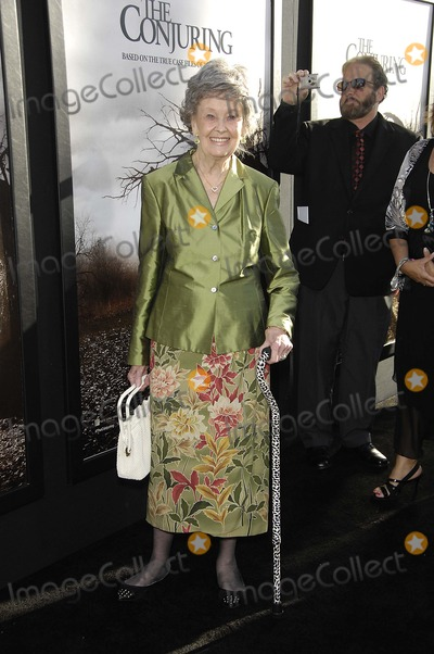 Lorraine Warren Photo - Lorraine Warren during the premiere of the new movie from Warner Bros Pictures THE CONJURING held at the Arclight Cinerama Dome on Junly 15 2013 in Los AngelesPhoto Michael Germana Star Max
