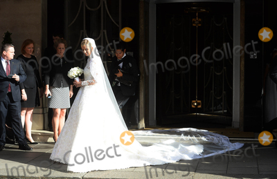 Nicky Hilton Photo - Photo by KGC-102starmaxinccomSTAR MAXCopyright 2015ALL RIGHTS RESERVEDTelephoneFax (212) 995-119671015Nicky Hilton is seen on her wedding day leaving Claridges Hotel en route to Kensington Palace for her marriage ceremony to James Rothschild(London England UK)