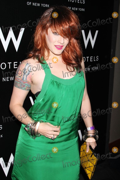 Ana Matronic Photo - Photo by KGC-146starmaxinccom2012ALL RIGHTS RESERVEDTelephoneFax (212) 995-1196112812Ana Matronic (aka Ana Lynch) at the W Love Hangover Ball(NYC)US Syndication Only