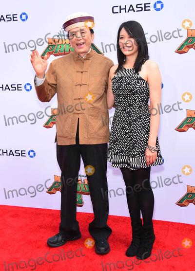 April Hong Photo - Photo by KGC-11starmaxinccomSTAR MAX2016ALL RIGHTS RESERVEDTelephoneFax (212) 995-119611616James Hong and April Hong at the premiere of Kung Fu Panda 3(Los Angeles CA)