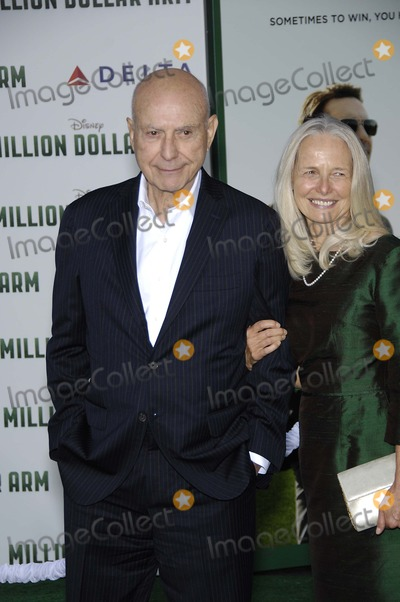 Alan Arkin Photo - Alan Arkin during the premiere of the new movie from Walt Disney Pictures MILLION DOLLAR ARM held at the El Capitan Theatre on May 6 2014 in Los AngelesPhoto Michael Germana Star Max