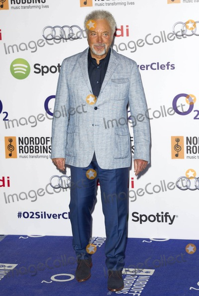 Tom Jones Photo - Photo by KGC-03starmaxinccomSTAR MAX2014ALL RIGHTS RESERVEDTelephoneFax (212) 995-11967414Sir Tom Jones at the Nordoff Robbins O2 Silver Clef Awards(London England)