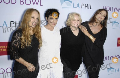 Gina Schock Photo - Photo by Michael GermanastarmaxinccomSTAR MAX2014ALL RIGHTS RESERVEDTelephoneFax (212) 995-119662114Charlotte Caffey Jane Wiedlin Gina Schock and Belinda Carlisle of The Go-Gos at the Opening Night of the Hollywood Bowl 2014(Los Angeles CA)