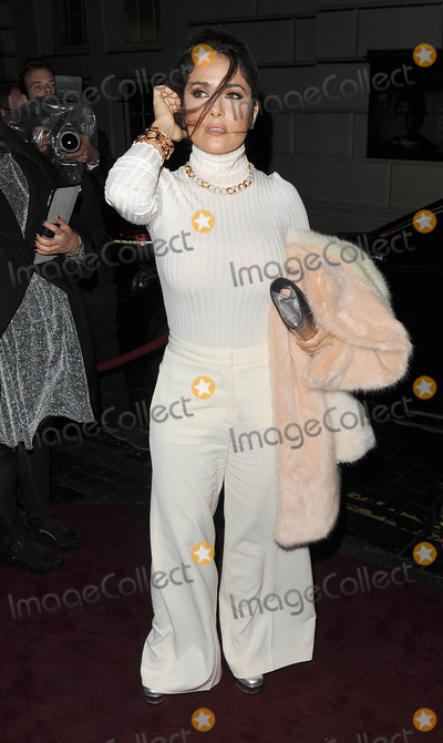 Salma Hayek Photo - Photo by KGC-305starmaxinccomSTAR MAXCopyright 2015ALL RIGHTS RESERVEDTelephoneFax (212) 995-119612315Salma Hayek is seen at a Christmas party(London England UK)