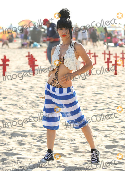 Bai Ling Photo - Photo by GPROstarmaxinccomSTAR MAXCopyright 2016ALL RIGHTS RESERVEDTelephoneFax (212) 995-119653016Bai Ling at a photo shoot on Santa Monica Beach(Los Angeles CA)
