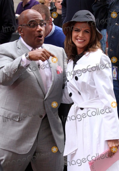 Natalie Morales Photo - AL Roker and Natalie Morales on Nbcs Today Show Toyota Concert Series at Rockefeller Plaza in New York City on 05-28-2009 Photo by Henry Mcgee-Globe Photos Inc 2009
