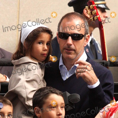 Photos and Pictures - Matt Lauer with Daughter Romy Lauer ...