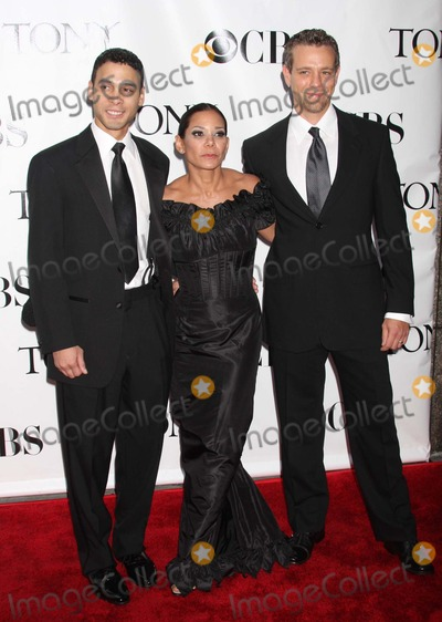 Adam Pascal Photo - New York NY 06-15-2008Wilson Jermaine Heredia Daphne Rubin-Vega and Adam Pascal62nd Annual Tony Awards at Radio City Music HallDigital photo by Lane Ericcson-PHOTOlinknet