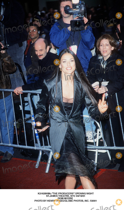 Demi Moore Photo - the Producers Opening Night Stjames Theatre NYC 041901 Demi Moore Photo by Henry McgeeGlobe Photos Inc