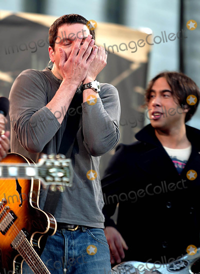 Arion Salazar Photo - (Third Eye Blind) Stephan Jenkins and Arion Salazar K31018hmc Third Eye Blind and Trista Rehn on Good Morning America Summer Concert Series at Bryant Park in New York City 662003 Photo Byhenry McgeeGlobe Photos Inc