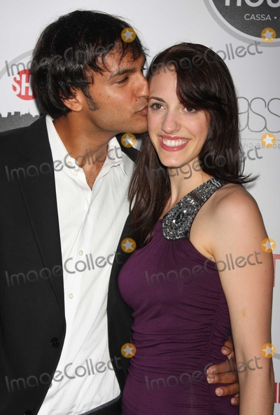 Arjun Gupta Photo - NYC  090710Arjun Gupta (Nurse Jackie) and girlfriend Sara at Showtimes kick off reception for Showtime House 2010 at Cassa Hotel and ResidencesPhoto by Adam Nemser-PHOTOlinknet