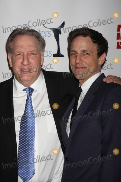 Alan Zweibel Photo - NYC  022010Alan Zweibel (receiving the Ian McLellan Hunter Award for lifetime achievement in writing) and Seth Meyers at the 62nd Annual Writers Guild Awards East at the Hudson Theatre Digital Photo by Adam Nemser-PHOTOlinknet