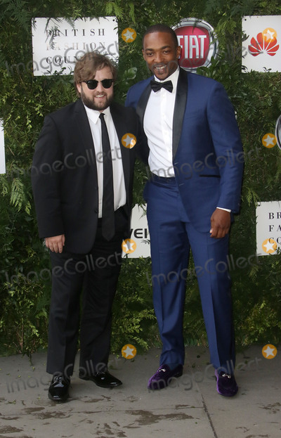 Anthony Mackie Photo - June 12 2016 - Haley Joel Osment and Anthony Mackie attending One For The Boys Fashion Ball 2016 at Victoria  Albert Museum in London UK