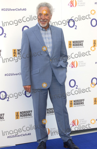 Tom Jones Photo - July 3 2015 - Tom Jones attending The Nordoff Robbins O2 Silver Clef Awards at The Grosvenor House Hotel in London UK
