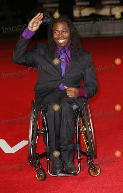 Ade Adepitan Photo - Nov 25 2014 - London England UK - Unbroken - UK Premiere Red Carpet Arrival The Odeon Leicester SquarePhoto Shows Ade Adepitan