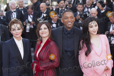 Agnes Jaoui Photo - CANNES FRANCE - MAY 23 Maren Ade Agnes Jaoui Will Smith Fan Bingbing attend the 70th Anniversary of the 70th annual Cannes Film Festival at Palais des Festivals on May 23 2017 in Cannes France(Photo by Laurent KoffelImageCollectcom)