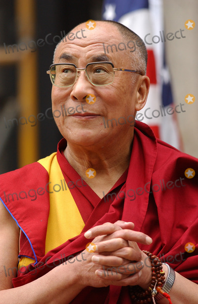 New york september 25 2005 his holiness the dalai lama attends the