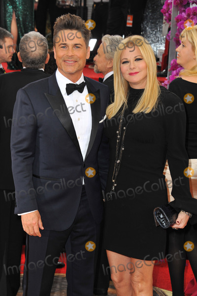 Sheryl Berkoff Photo - January 12 2014 LAActor Rob Lowe (L) and Sheryl Berkoff arriving at the 71st Annual Golden Globe Awards held at The Beverly Hilton Hotel on January 12 2014 in Beverly Hills California