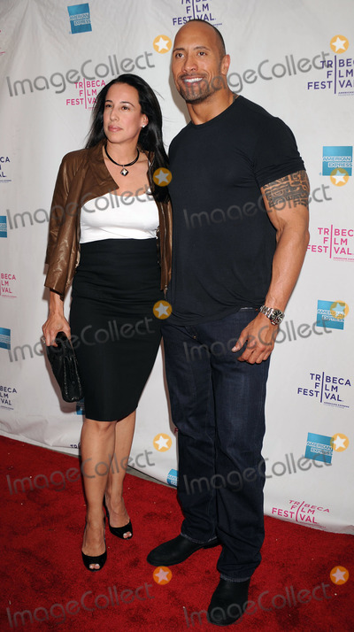Dany Garcia Photo - (L-R) Producers Dany Garcia and Dwayne Johnson at the premiere of Racing Dreams during the 2009 Tribeca Film Festival at SVA Theater on April 25 2009 in New York City