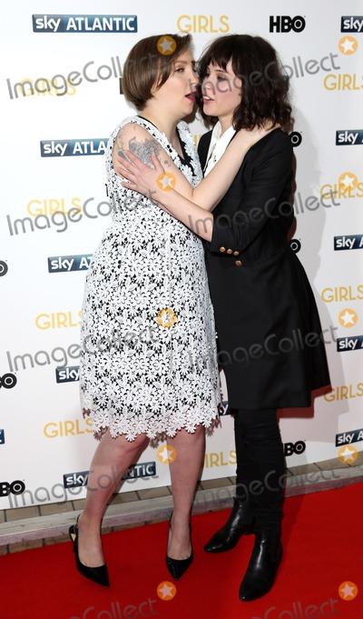 Lena Dunham Photo - Janaury 15 2014 LondonLena Dunham and Felicity Jones at the UK premiere of Girls the third series held at the Cineworld Haymarket on Janaury 15 2014 in London