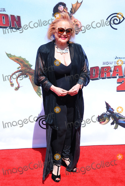 Carol Connors Photo - June 8 2014 LACarol Connors arriving at the premiere of How to Train Your Dragon 2 at the Regency Village Theatre on June 8 2014 in Westwood California