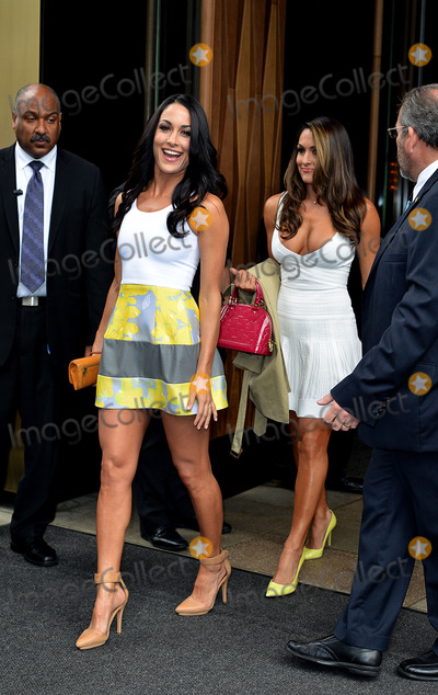 The Bella Twins Photo - May 15 2014 New York CityThe Bella Twins outside the Trump Soho hotel on May 15 2014 in New York City
