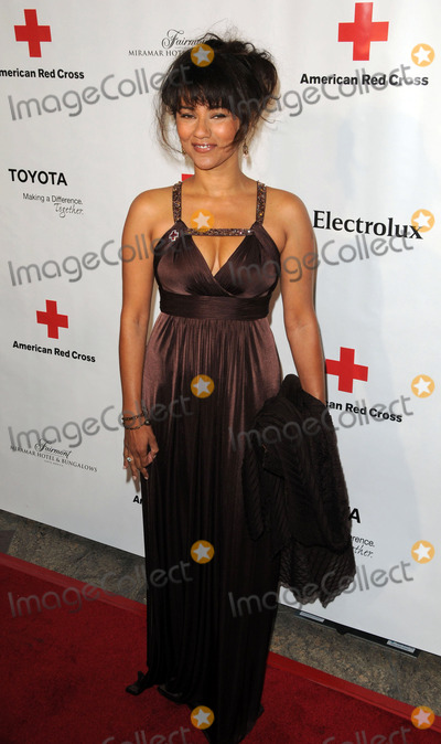 Suleka Mathew Photo - Actress Suleka Mathew arriving at the American Red Cross  Annual Red Tie Affair on April 9 2011 in Santa Monica California