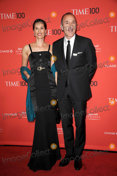 Annette Roque Photo - April 24 2012 New York City Matt Lauer Annette Roque arriving to the TIME 100 Gala celebrating TIMES 100 Most Influential People In The World at Jazz at Lincoln Center on April 24 2012  in New York City