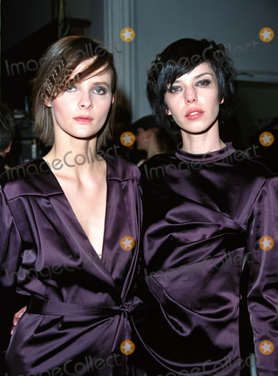 Carmen Kreuzer Photo - Models RUTA and CARMEN KREUZER backstage at the ATIL KUTOGLU Fashion Show during the New York Fashion Week Puck Building New York February 12 2002  2002 by Alecsey BoldeskulNY Photo Press     ONE-TIME REPRODUCTION RIGHTS          NY Photo Press    phone (646) 267-6913     e-mail infocopyrightnyphotopresscom