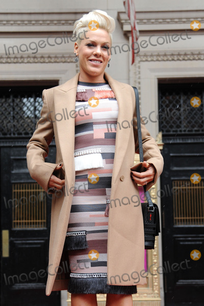 Alecia Beth Moore Photo - December 10 2013 New York CityPink attending the Billboard Women in Music luncheon at Capitale in New York City