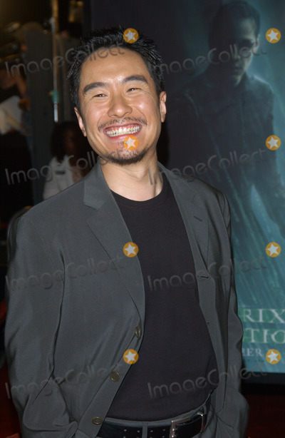 Anthony Wong Photo - Actor ANTHONY WONG at the world premiere in Los Angeles of his new movie The Matrix RevolutionsOctober 27 2003 Paul Smith  Featureflash