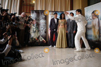Tony Leung Photo - Actors JACKIE CHAN (in white)  TONY LEUNG KA FAI with Bollywood star MALLIKA SHERAWAT  Korean actress KIM HEE-SEON (in black)  director STANLEY TONG at the 58th Annual Film Festival de Cannes to promote their new movie The MythMay 17 2005 Cannes France 2005 Paul Smith  Featureflash