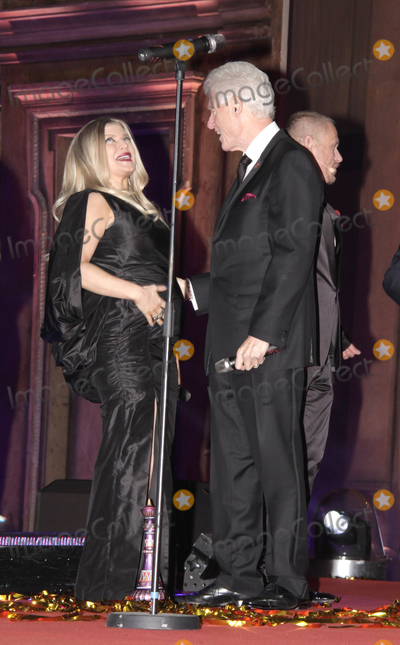 Bill Clinton Photo - Fergie and Bill Clinton on stage during the Life Ball 2013 held in Vienna Austria 25052013 Manuela LarisseggerCatchlightMediaFeatureflash