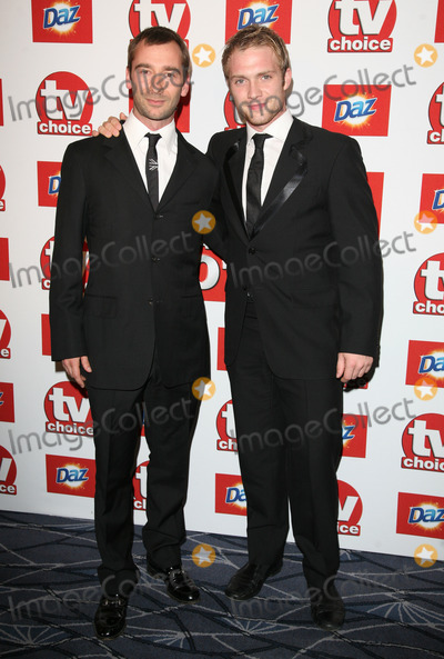 Andrew Lancel Photo - Andrew Lancel and Chris Fountain arriving for the 2011 TVChoice Awards at The Savoy London 13092011 Picture by Alexandra Glen  Featureflash