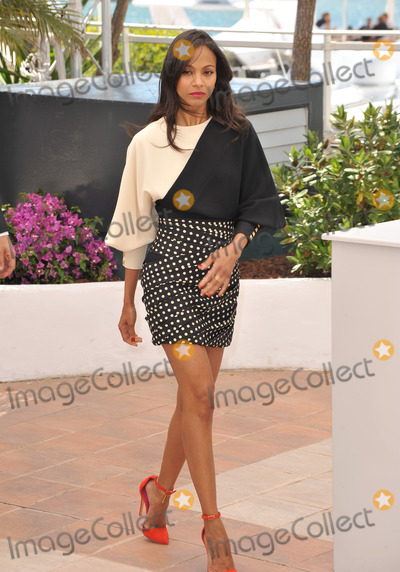 TI Photo - Zoe Saldana at the photocall for her movie Blood Ties at the 66th Festival de CannesMay 20 2013  Cannes FrancePicture Paul Smith  Featureflash