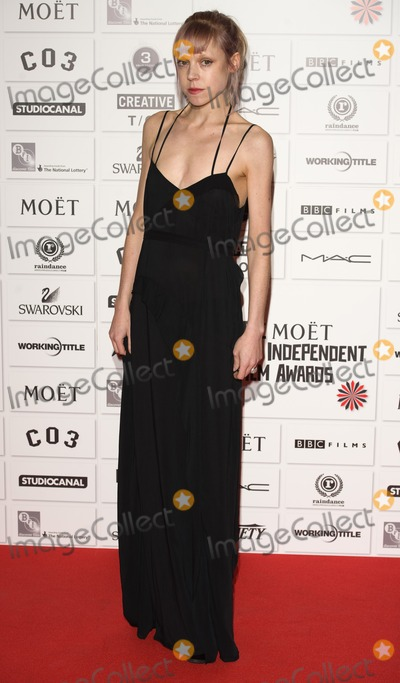 Antonia Campbell-Hughes Photo - Antonia Campbell Hughes arriving for the Moet British Independant Film Awards 2011 held at Old Billingsgate Market in London 04122011 Picture by Simon Burchell  Featureflash