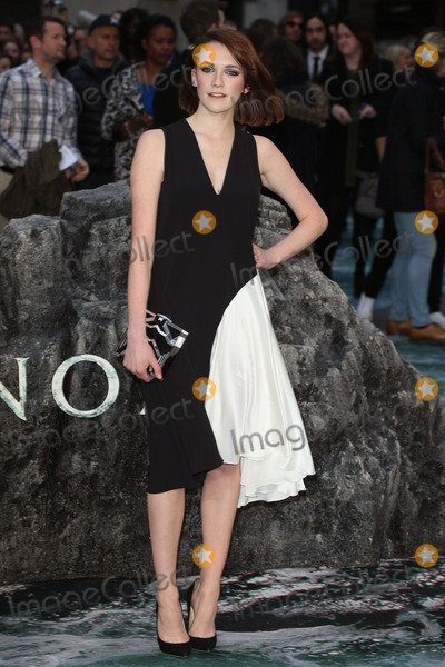 Charlotte Ritchie Photo - Charlotte Ritchie arriving for the UK Premiere or Noah at Odeon Leicester Square London 31032014 Picture by Alexandra Glen  Featureflash
